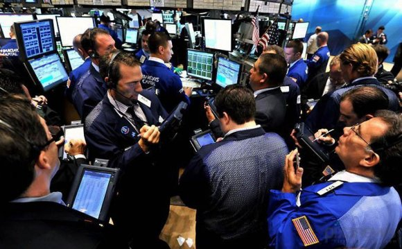Фондовая биржа,быки